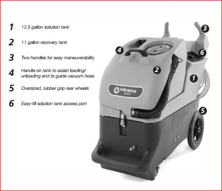 Quality Cleaning Supply Advance Et610 100sc Portable